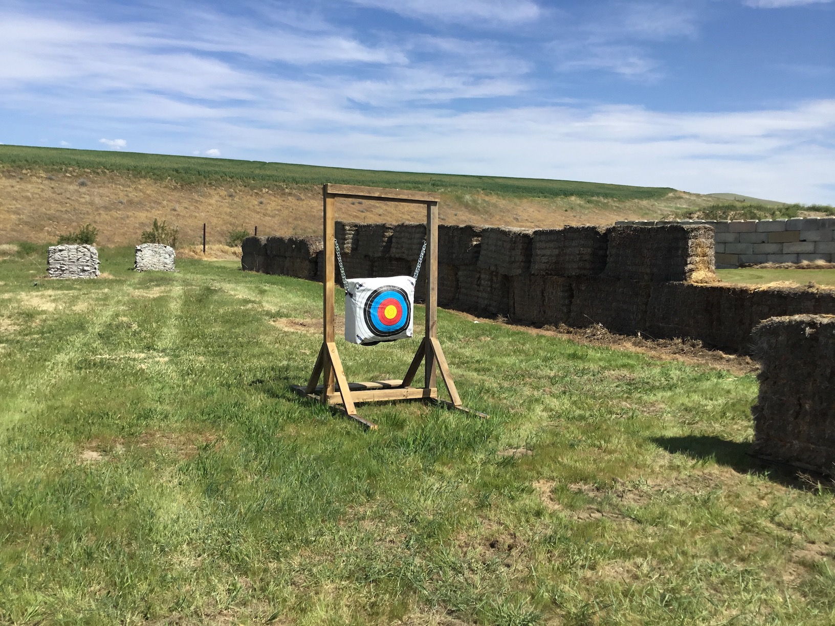 Archery Range Proof of Concept target